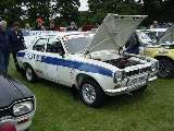 Uniflo rally car